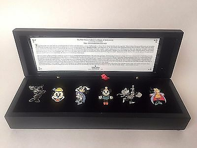 Disney Pins Minnie Mouse 6 Pin Boxed Set Limited Edition 75th Anniversary 2003