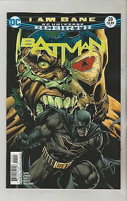 Dc Comics Batman #20 June 2017 Rebirth 1St Print Nm