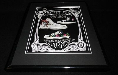 2008 Grateful Dead Shoe Collection Framed 11x14 ORIGINAL Vintage Advertisement
