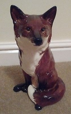 Stunning Beswick Fireside Fox-Model No; 2348-Mint!
