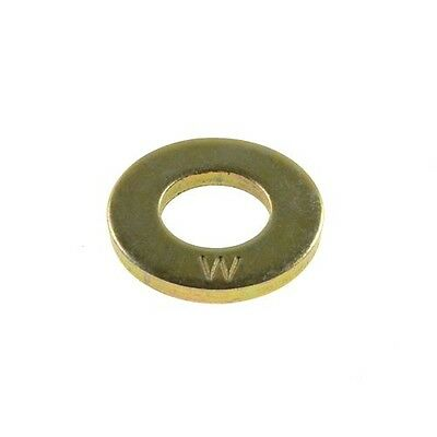 "Sampson High Tensile Washer 1/4"" x 15.88mm x 1.7mm Imperial Grade 8 Zinc Yellow"