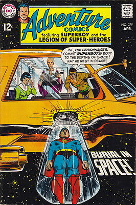 1969 Adventure Comics #379 – Superboy & Legion Of Super-Heroes – VF