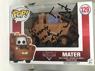 Larry The Cable Guy signed FUNKO POP figure Cars