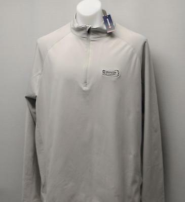 New Mens Levelwear XL Metro long sleeve 1/4 zip pullover ManuLife LPGA Classic