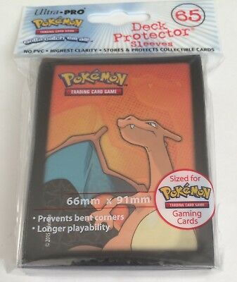 Ultra Pro Charizard Deck Protector Trading Card Sleeves - 65 Pack - Pokemon Go