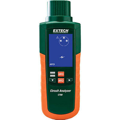 Extech CT80 AFCI, GFCI and AC Circuit Load Tester