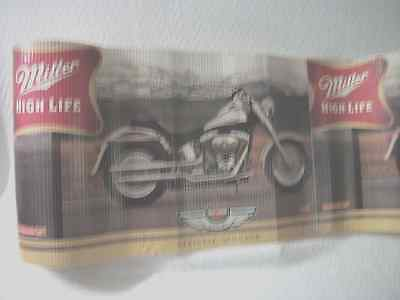 "16"" X 25' Long (100 Year Anniversary) Harley Davidson  Miller High Life Banner"