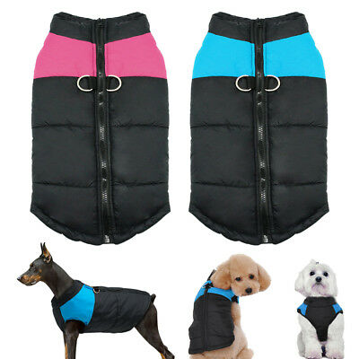 Winter Dog Clothes Jumpers Waterproof Small Large Dog Coat Vest Jacket Hoodie