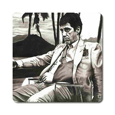 Scarface 2 - Oversized Rubber Coasters Set of 4 or 6