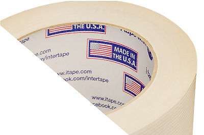 """48 Rolls 2"""" x 60 Yds Filament Reinforced Strapping Tape 3.9 Mil Thickness"""