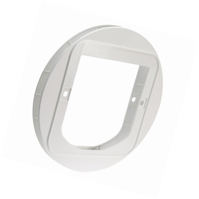 SureFlap Cat Flap Mounting Adaptor, White FAST FREE DELIVERY