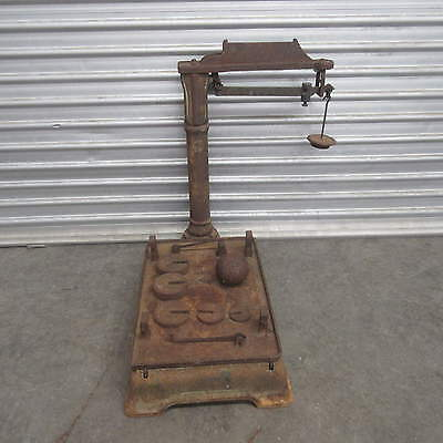 ANTIQUE VINTAGE SCALES – INDUSTRIAL CAST IRON SCALES, 5d