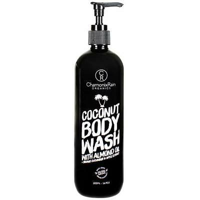 New Coconut Body Adult Wash Chamonix Rain Organics