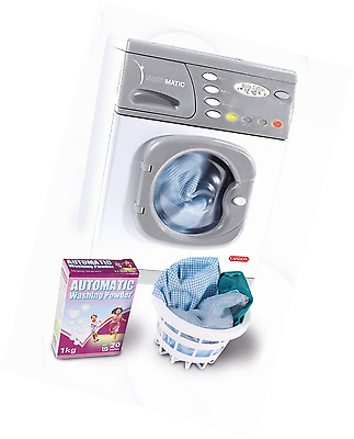 Casdon 476 Toy Hotpoint Electronic Washer Kids Girls Replica Toy Role Play Set