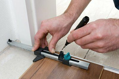 Wolfcraft Laminate Positioner Fitting Tool Optimal Measuring  Floor Covering New