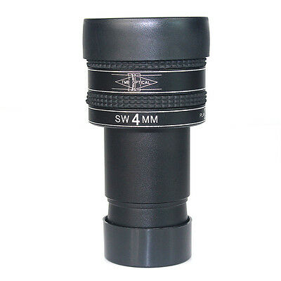 """New 1.25"""" 4mm Planetary Eyepiece For Telescope Super Wide Angel 58° w/ Track No."""
