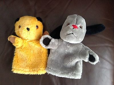 The Sooty & Sweep Show Hand Glove Puppet Set Soft Toy Plush TV Characters