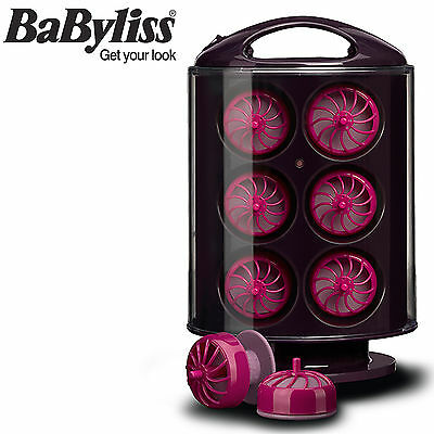BaByliss Curl Pods 18 Large Heated Hair Styling Rollers Curlers For Soft Curls