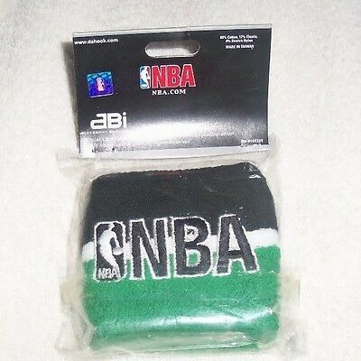 NBA : Green and Black Wristbands - Pack of 2 - New