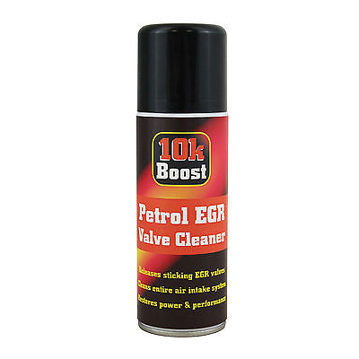 10K Boost Petrol EGR Valve Air Intake System Cleaner Spray 200ml Restores Power