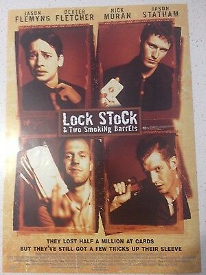 "Promotional 7"" X 11"" Australian Release Movie Flyer - Lock, Stock (1998)"