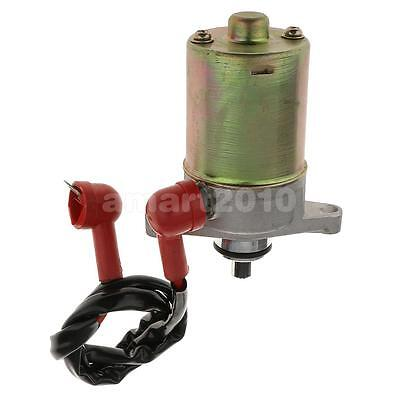 Motorcycle ATVs Go Carts Starter Motor for 10 Teeth GY6 50CC 139QMB Engine