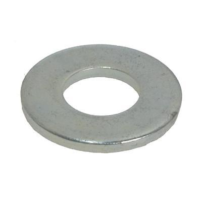 Flat Washer M6 (6mm) x 16mm x 1.4mm Metric Round Steel Zinc Plated