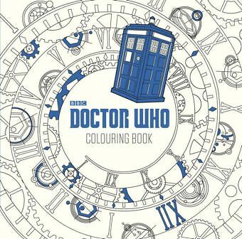 Doctor Who Colouring Book-NEW-9780141367385