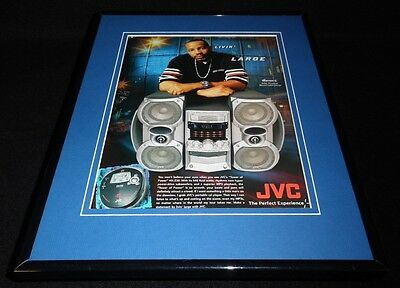 Warren G 2003 JVC Tower of Power Framed 11x14 ORIGINAL Advertisement