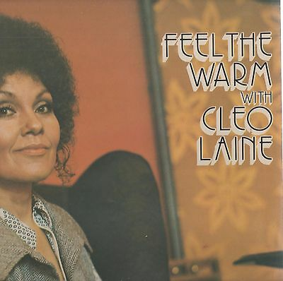Cleo Laine -'Feel The Warm With' 1972 UK EMI LP. Ex!