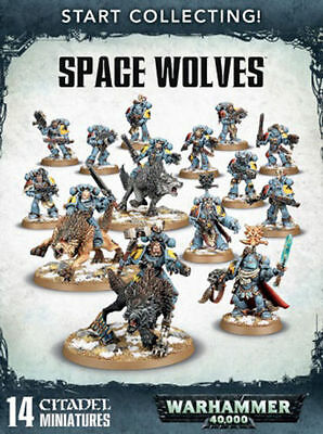 Start Collecting! Space Wolves Warhammer 40k Games Workshop NEW