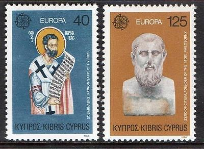 Cyprus MNH 1980 Europa Stamps
