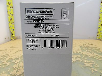 sensor switch wsd iv pir wall switch occupancy sensor 184CHK [3*B-21]