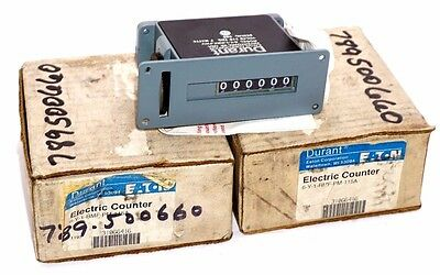 New Durant 6-Y-1-Rmf-Pm-115A Electric Counter 6Y1Rmfpm115A