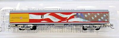 Z Scale - MICRO-TRAINS LINE 553 00 015 UNION PACIFIC 70' Lightweight Baggage Car