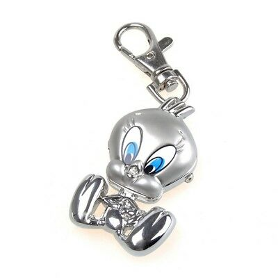 Alloy Duck Key Ring Watch Pocket Quzrtz Watch