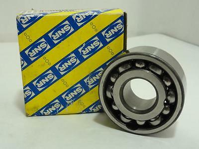 "157671 New In Box, SNR 3304.B Angular Contact Bearing, 20mm ID, 52mm OD, 7/8"" W"