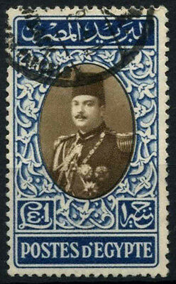 Egypt 1947-51 SG#346, £E1 King Farouk Used #D46852