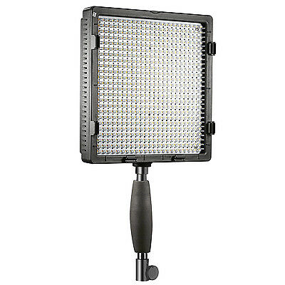 Neewer 2* Kit Illuminazione CN-576 Luce LED Dimmerabile Stativo + 1 Custodia