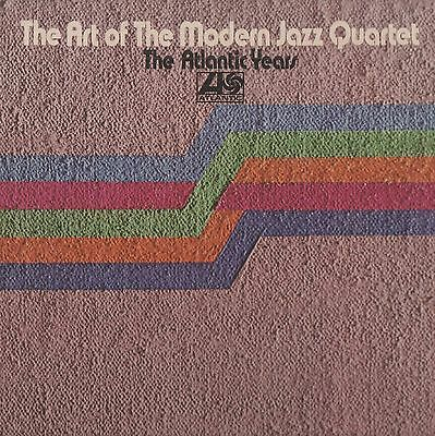 The Modern Jazz Quartet - 'The Art Of' 1973 Atlantic 2LP gatefold. Ex!