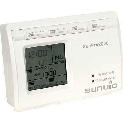 Sunvic Sunpro 2000 2 Channel Programmer BRAND NEW BOXED