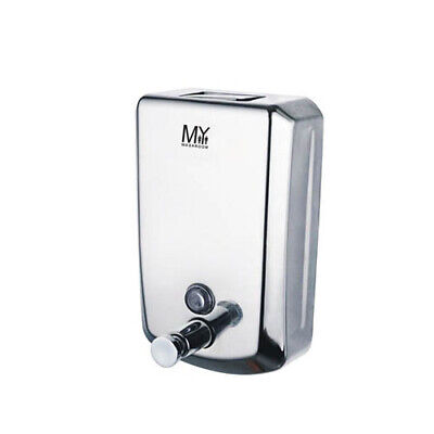 Stainless Steel  Soap Dispenser Polished Commercial  Pump 1000ML