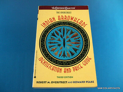 Overstreet Indian Arrowheads Price Guide #3 ''Very Good Overall Condition''