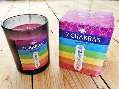 Fragranced Chakra Energy Candle Meditation New Age Healing Aromatherapy Esoteric