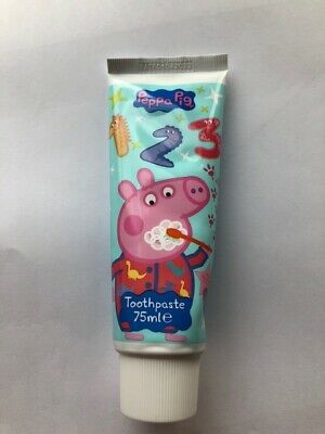 4 x Peppa Pig Toothpaste 75ml Each Childrens Oral Hygiene Tooth Paste George