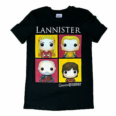 UNISEX Official Licensed FUNKO GAME OF THRONES LANNISTER T-SHIRT