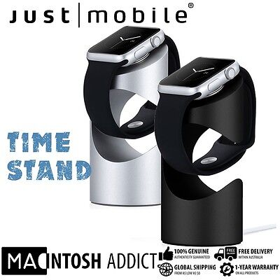 Just Mobile TimeStand Aluminium Charging Dock Stand For Apple Watch