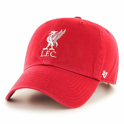 Liverpool FC  LFC Liverbird Boys Red '47 CLEAN UP Cap Official