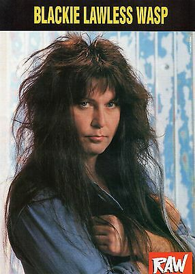 Blackie Lawless  W.A.S.P.             Poster    / Picture (MN 29 )