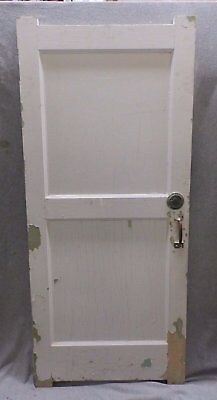 Antique Bathroom Stall Saloon Door Open Occupied Hardware Vintage 23x54 371-17R